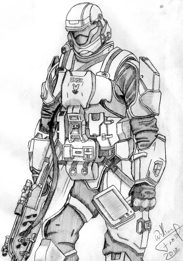 ODST (Improved) by darthabyss567