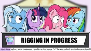 Rigging in Progress
