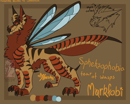 Spheksophobia Morkfobi Custom