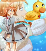 dancing duck princess by konacoffeecream