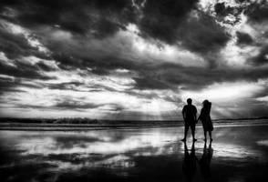 together til the sun set by bransuwandrei