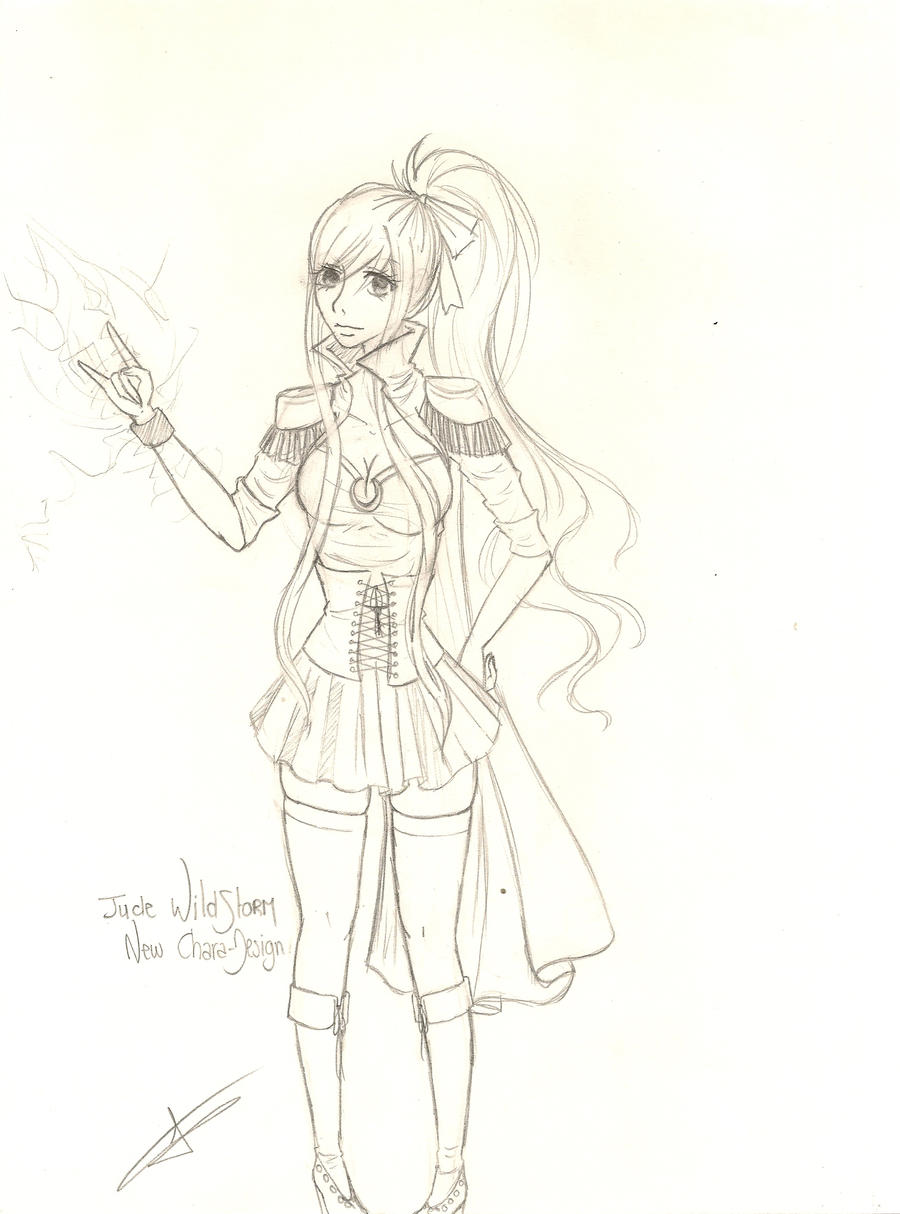 Jude new chara design by mllestorm on deviantart for Portent fairy tail