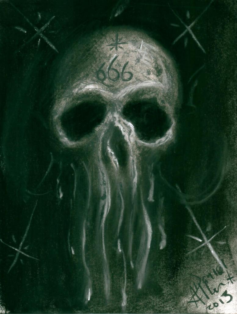 Evil Skull by thisguyrocks on DeviantArt