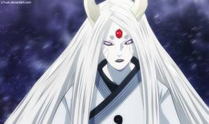 Naruto 679 - Kaguya Ootsutsuki by X7Rust