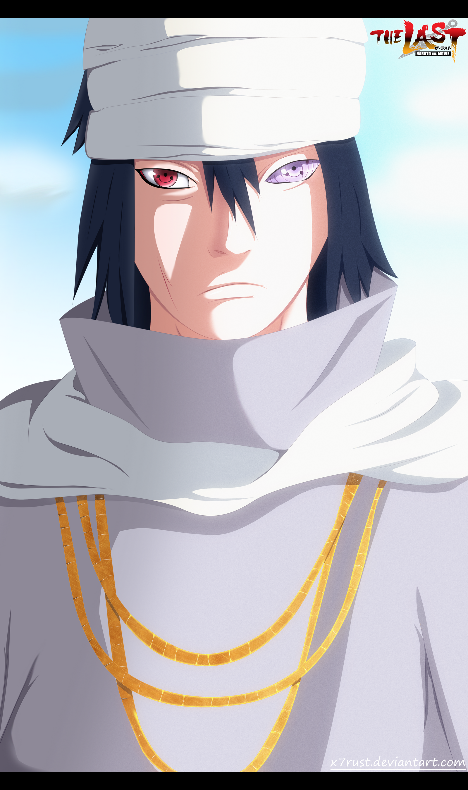 Naruto The last movie - Sasuke by X7Rust on DeviantArt