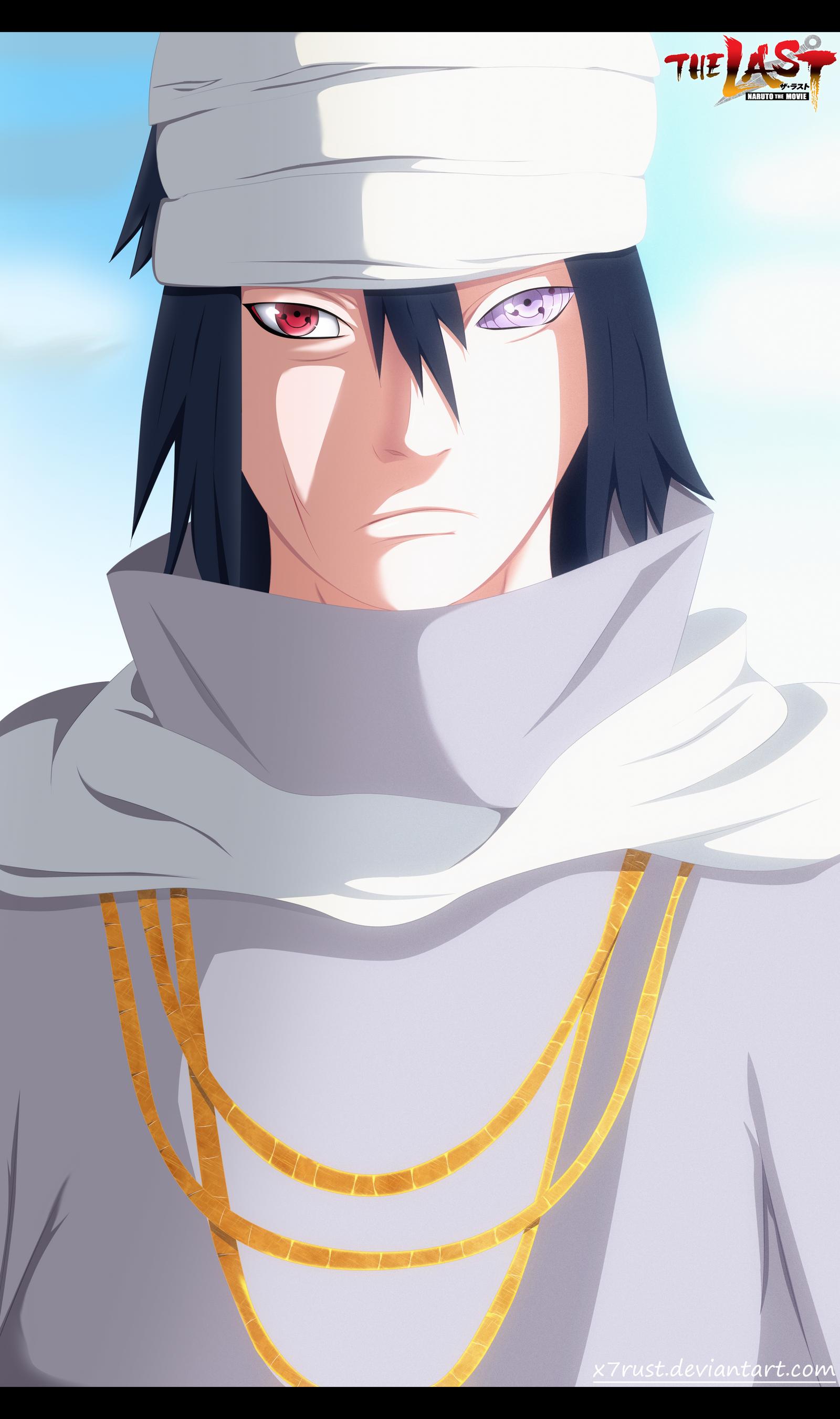 Naruto The last movie - Sasuke by X7Rust on DeviantArt