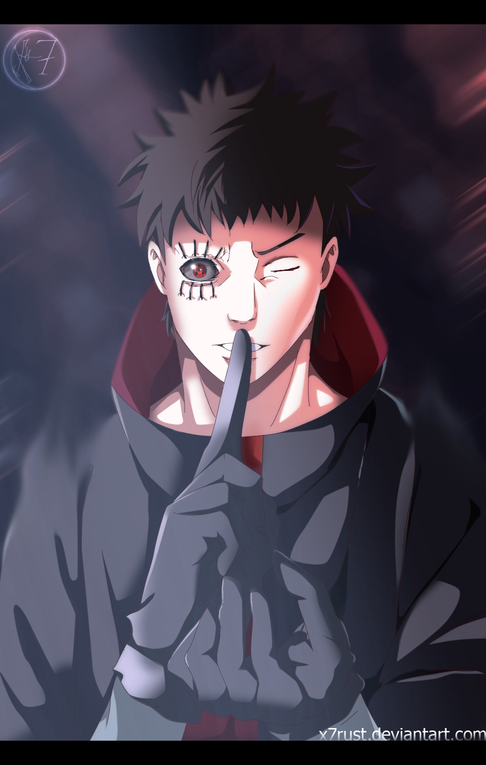 Beautiful Wallpaper Naruto Hood - naruto___man_in_a_hood_by_x7rust-d8tqbfb  Picture_631615.png