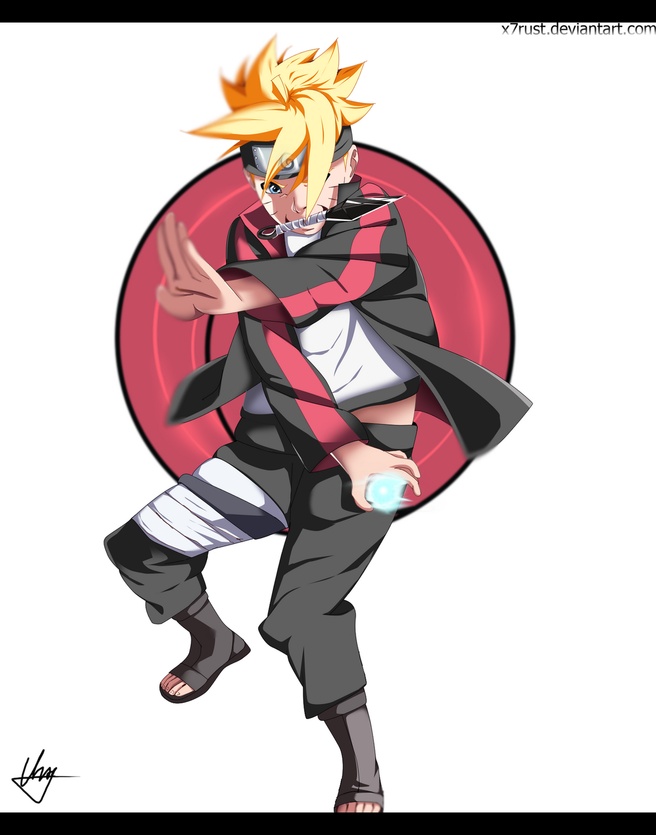 Uzumaki Boruto By X7rust On Deviantart