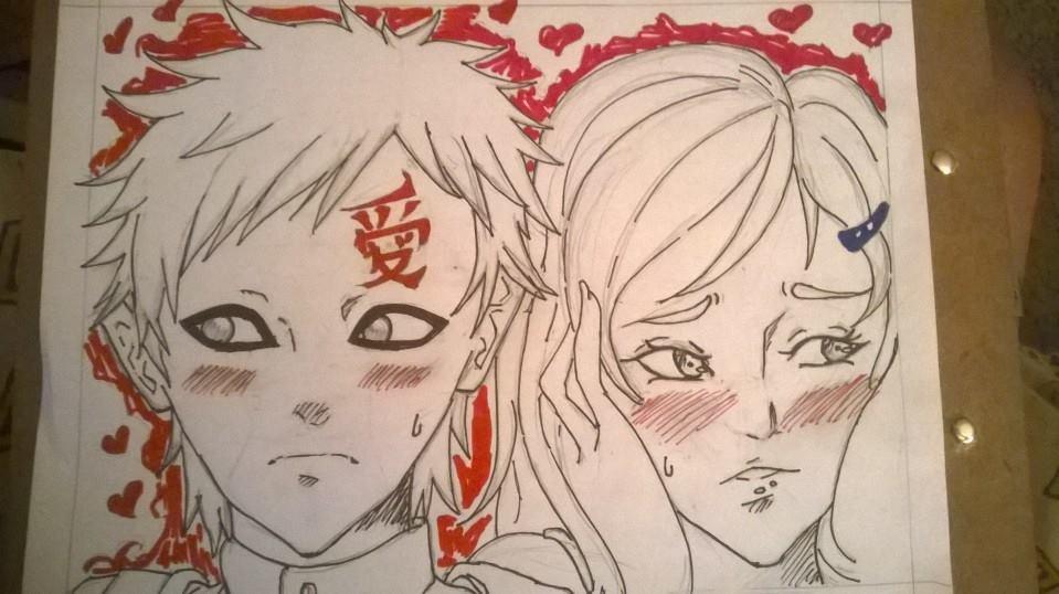 my valentine  : gaara and saya X3 by sayalove2