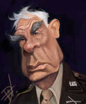 Lee Marvin Caricature