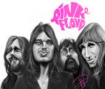 Pink Floyd Caricature
