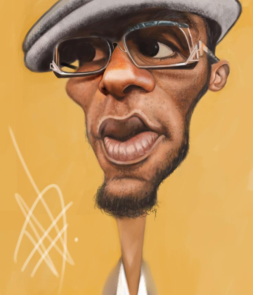 Mos Def Caricature by du-har