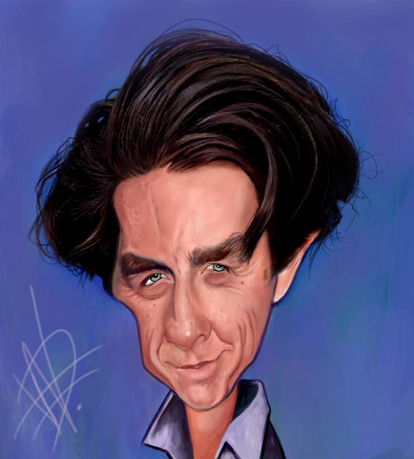 Hugh Grant Caricature by du-har