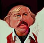 Robert Redford Caricature