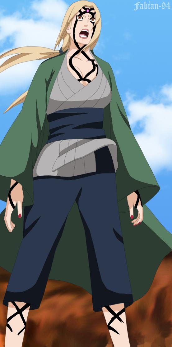 Tsunade Naruto Hentai Manga Color