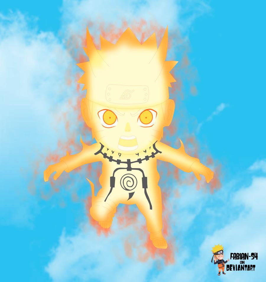 Naruto chakra mode chibi by FabianSM on DeviantArt