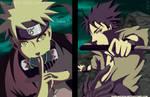 Naruto Sennin VS Sasuke Sharingan