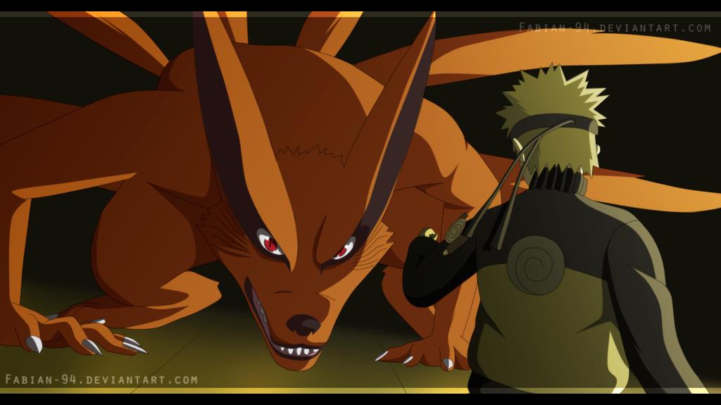 Naruto vs Kurama by FabianSM