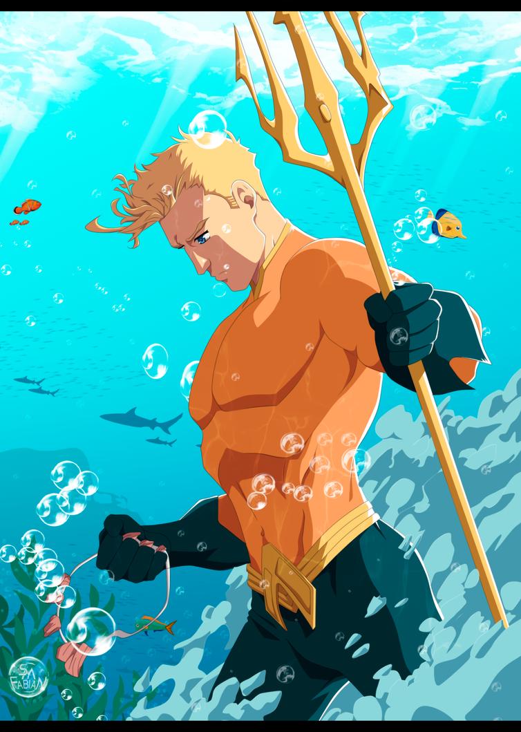 Aquaman by FabianSM
