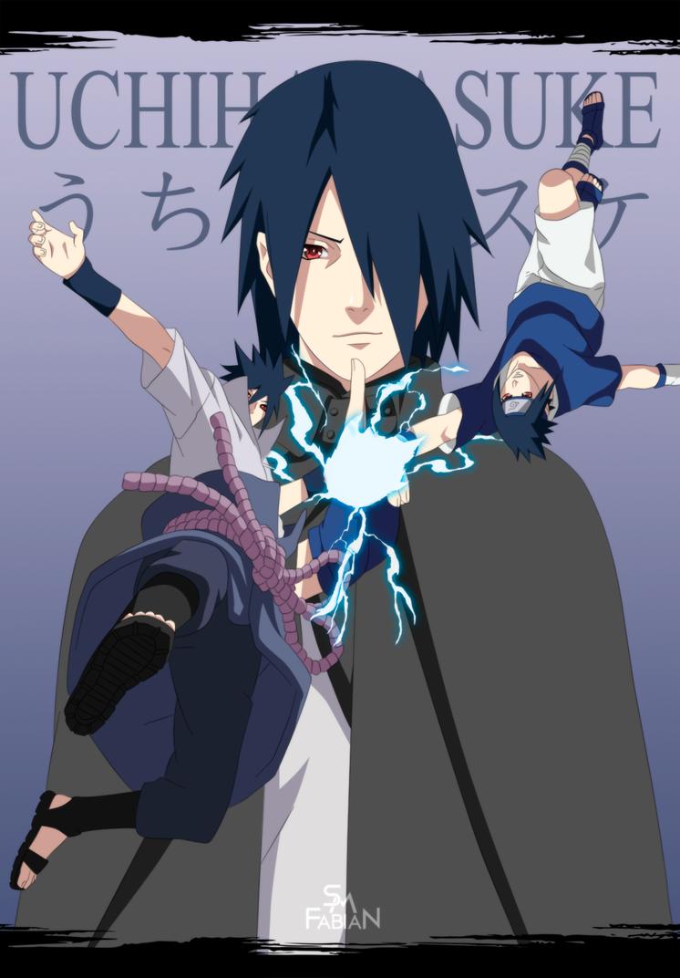 Uchiha Sasuke by FabianSM