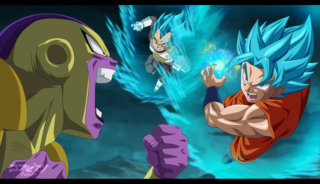 Bardock Sjj 3 By Naruto999 By Roker Deviantart Com On: Wallpaper Hd Goku Ssj Dios Azul Labzada Wallpaper
