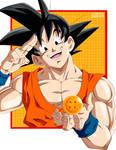 Son Goku by FabianSM