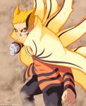 Lets Fight_Naruto Baryon Mode