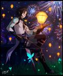 Xiao a sea of lights