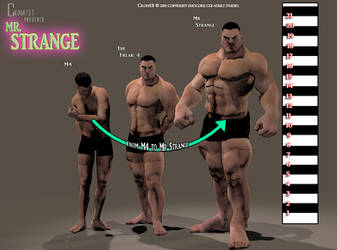 for Mr. Strange For M4 Compare-sizes by crom131