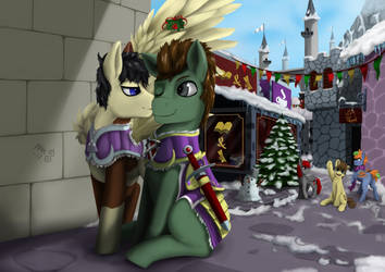 commission - under the holly