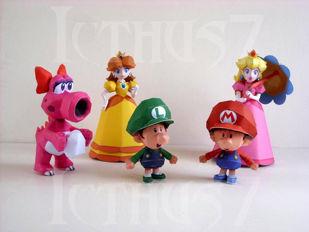 Characters Games Mario Bros. by enrique3
