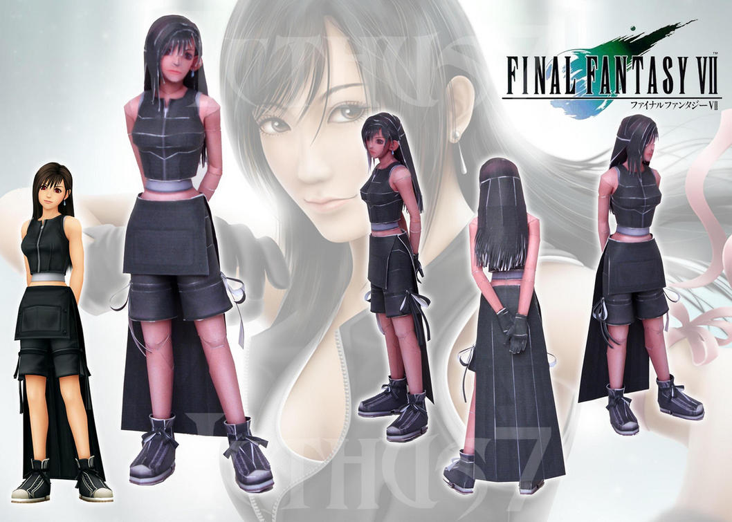 Tifa Lockhart Final Fantasy by enrique3