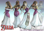 Zelda from Super Smash Bros.