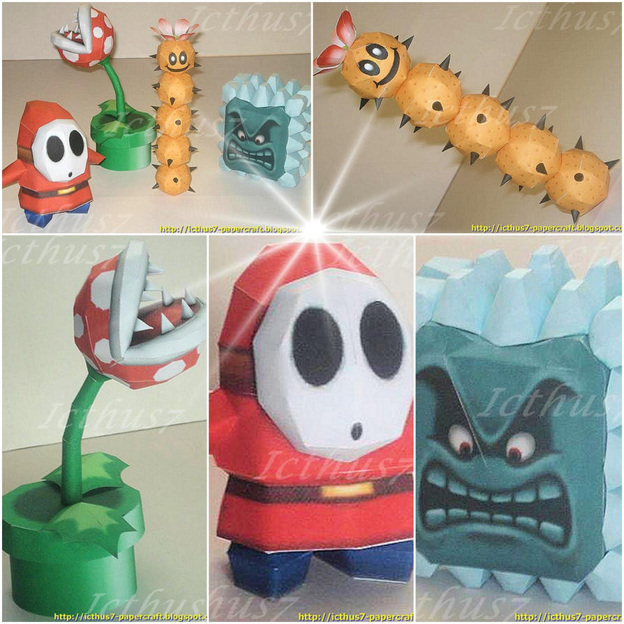Characters of Mario Bros 1 by enrique3