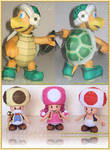 Characters of Mario Bros 3