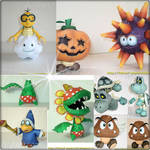 Characters of Mario Bros 4