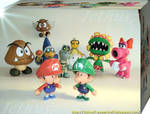 Characters of Mario Bros 5