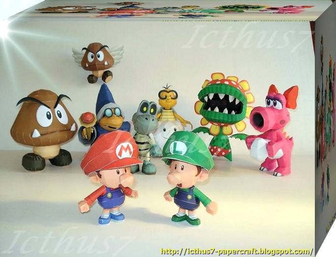 Characters of Mario Bros 5 by enrique3
