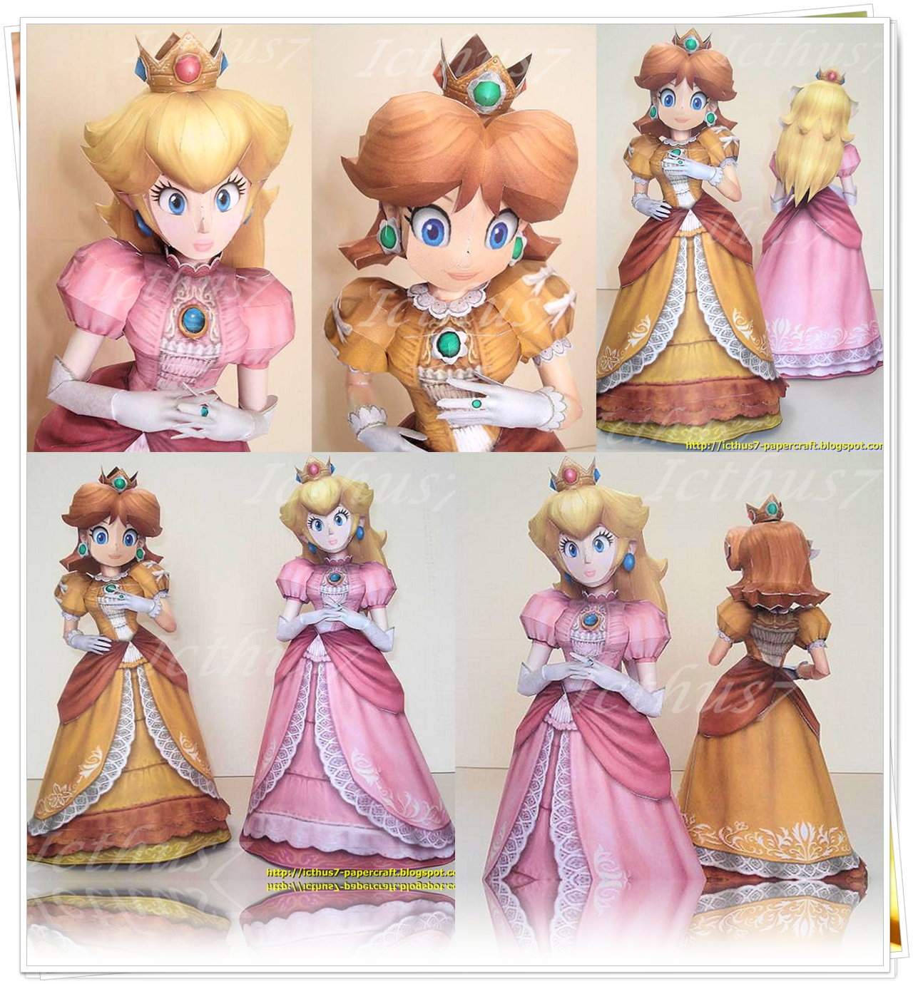 Princess Peach and Daisy. by enrique3
