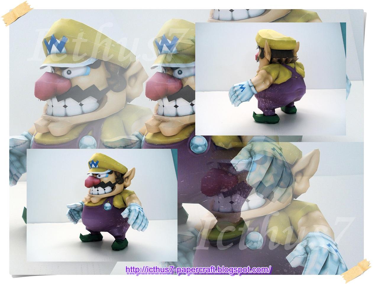 Wario from Mario Bros by enrique3