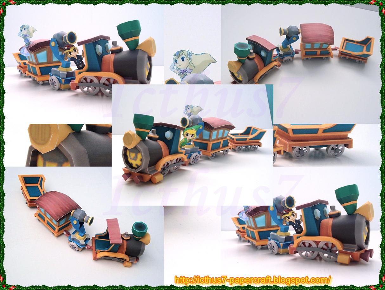 Spirit Train from Zelda by enrique3