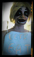 Five Nights at Freddys Chica cosplay makeup