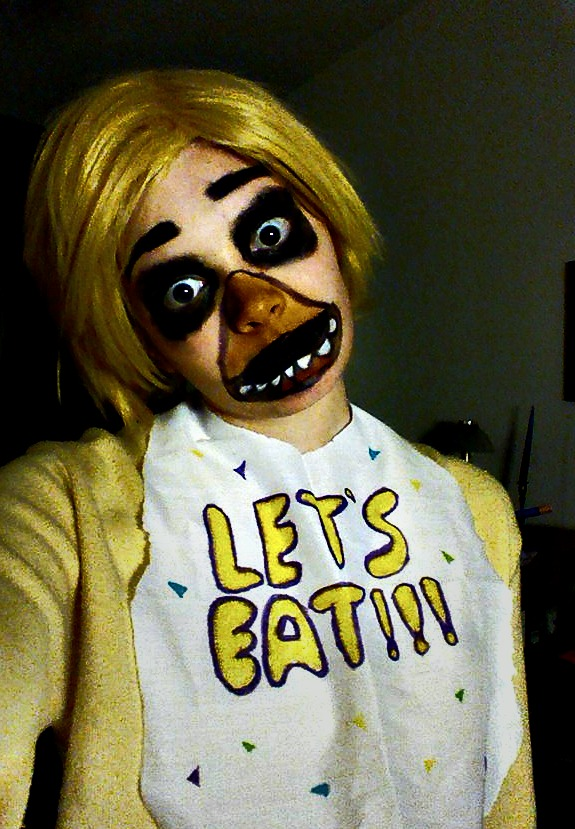 Five Nights at Freddys Chica Cosplay WIP 2 by Thesuperninjax
