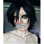 Titan Eren Makeup
