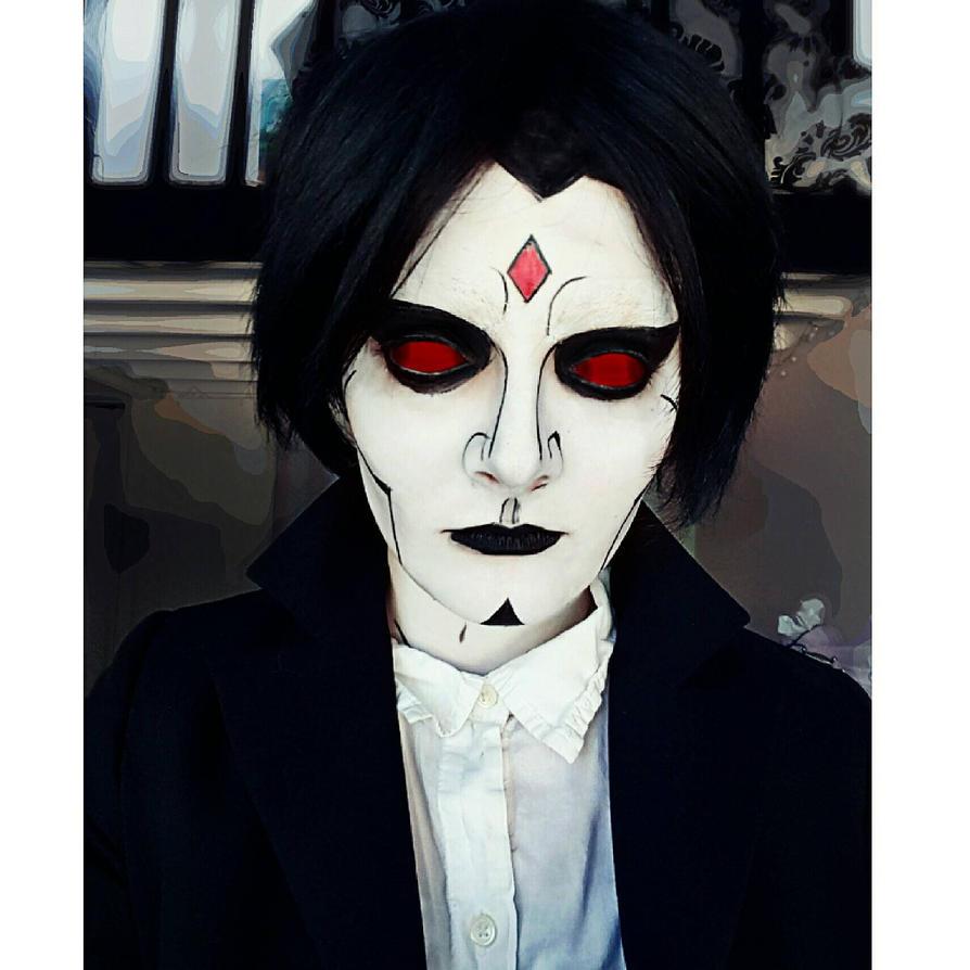 X-Men Mr. Sinister Makeup by Thesuperninjax