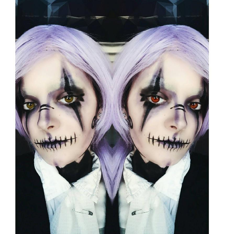 Human Chandelure Makeup  by Thesuperninjax