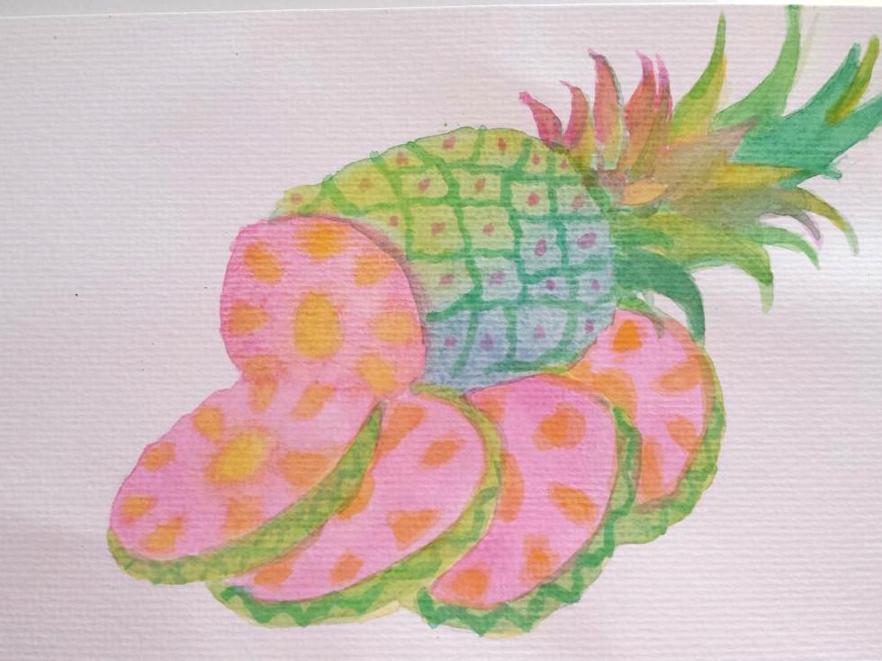 Pineapple by brittypikiruxa