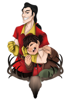 Gaston's Best Pal by SweeneyToddST