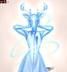 Ghostly Deer