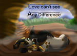 Comic -Love can't see any difference. by salem20
